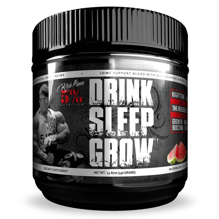 5% Nutrition Sports Performance Recovery Watermelon 5% Drink Sleep Grow 30 Servings (1756480176172)