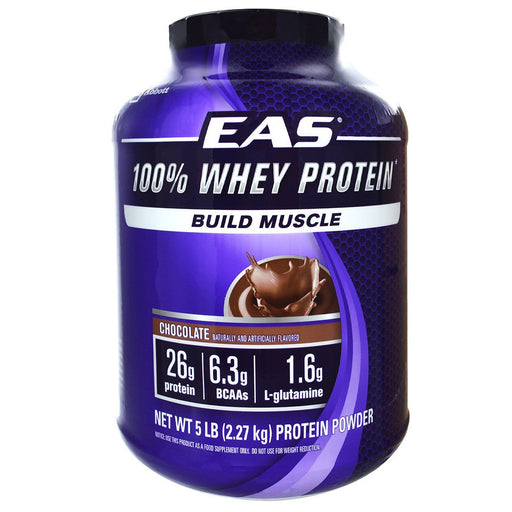 EAS Sports Nutrition & More Chocolate EAS 100% Whey Protein 5 Lbs (580743987244)