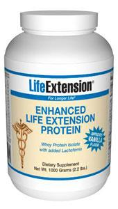 Life Extension Sports Nutrition & More Life Extension Enhanced Whey Protein (Vanilla) 1000 grams (581053743148)