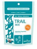Navitas Naturals Vitamins, Minerals, Herbs & More Navitas Naturals Trail Mix Goji-Mulberry-Goldenberry (Certified Organic) 8 Oz (581249761324)