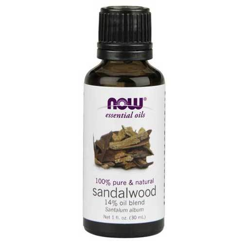 Now Foods Vitamins, Minerals, Herbs & More Now Foods Sandalwood Oil 14% Blend 1 Oz (582196756524)