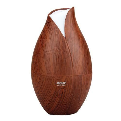 Now Foods Vitamins, Minerals, Herbs & More Now Foods Ultrasonic Faux Wood Grain Oil Diffuser (582123028524)