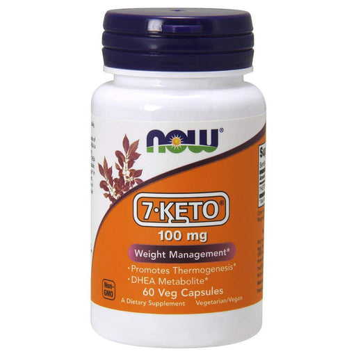 Now Foods Sports Nutrition & More Now Foods 7-Keto DHEA 100mg 60 Vege Caps (580905107500)
