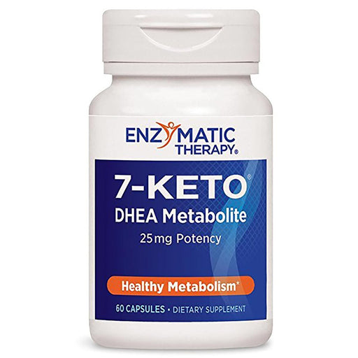 Enzymatic Therapy Sports Nutrition & More Enzymatic Therapy 7-Keto DHEA 25mg 60 Caps (580633362476)
