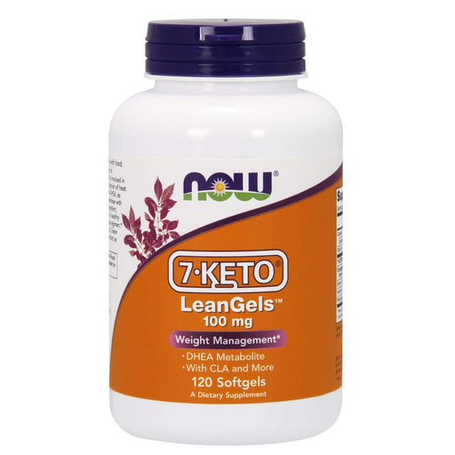 Now Foods Sports Nutrition & More Now Foods 7-Keto 100mg Leangels 120 Softgels (582250496044)