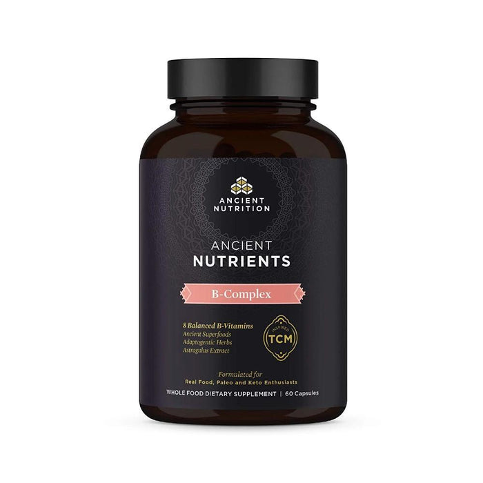 Ancient Nutrition Vitamins & Minerals Ancient Nutrition Nutrients B-Complex 60C (4360290795635)