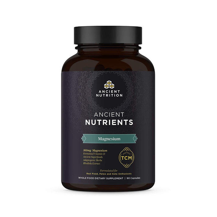 Ancient Nutrition Vitamins & Minerals Ancient Nutrition Nutrients Magnesium 90C (4360290762867)