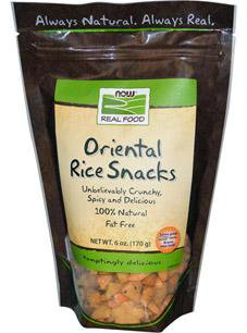 Now Foods Vitamins, Minerals, Herbs & More Now Foods Oriental Rice Snacks 6 oz (580627497004)
