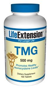 Life Extension Vitamins, Minerals, Herbs & More Life Extension Tmg (trimethylglycine) 500mg 180 Tabs (581043912748)