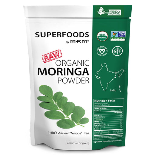 MRM Specialty Health Products Default MRM Raw Organic Moringa Powder 60SV (932273061932)