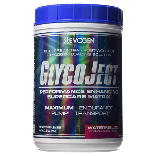 Evogen Sports Nutrition & More Watermelon Evogen GlycoJect 2.2 Lbs (581380112428)