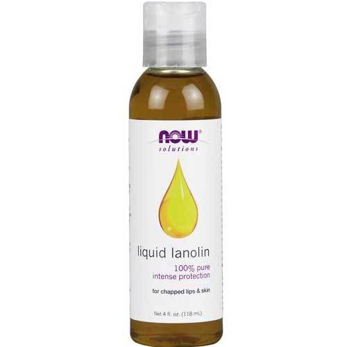 Now Foods Vitamins, Minerals, Herbs & More Now Foods Liquid Lanolin Pure 4 Oz (582225100844)