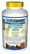 Life Extension Vitamins, Minerals, Herbs & More Life Extension Mix with Extra Niacin without Copper 100 Tabs (581070880812)