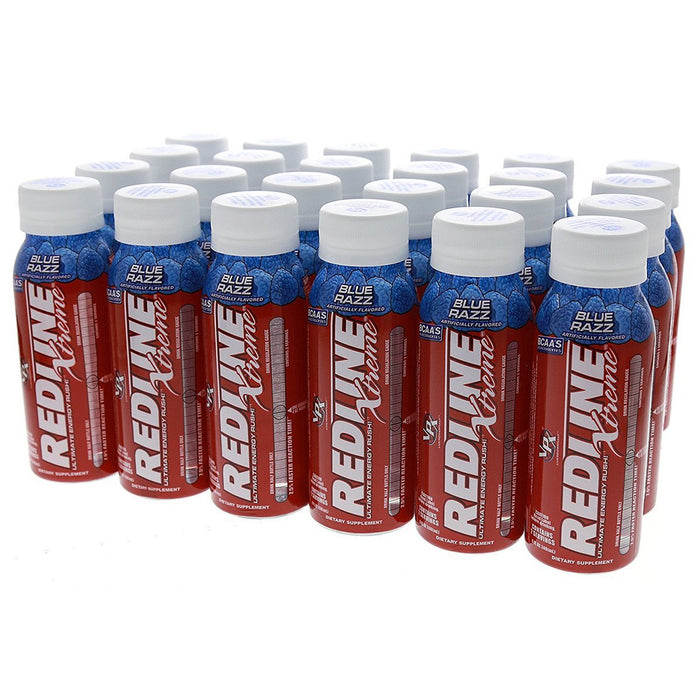 VPX Sports Nutrition & More Blue Razz VPX Redline Extreme RTD 24/Case (580862476332)