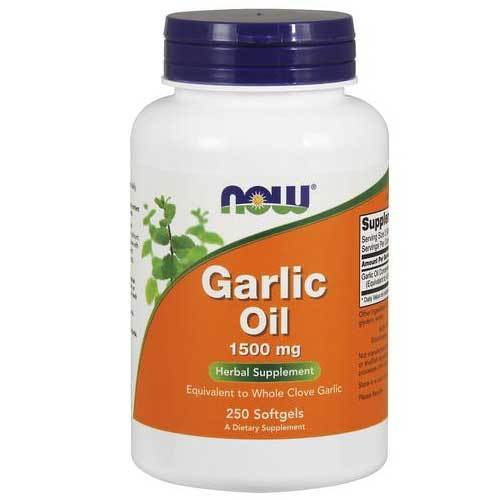 Now Foods Vitamins, Minerals, Herbs & More Now Foods Garlic Oil 1500 Mg 250 Softgels (582246039596)
