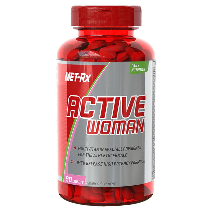 Met-Rx Vitamins, Minerals, Herbs & More Met-Rx Active Woman  90 Tablets (581754421292)