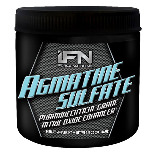 IFORCE Sports Nutrition & More IFORCE Agmatine Sulfate 50 Grams (581669584940)