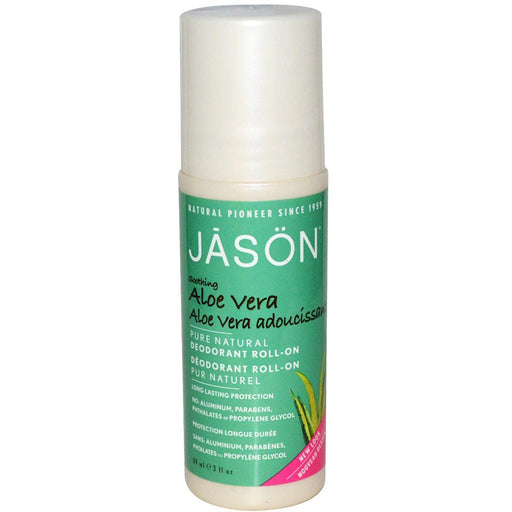 Jason Vitamins, Minerals, Herbs & More Jason Aloe Vera Deoderant Roll On 3 Oz (580704796716)