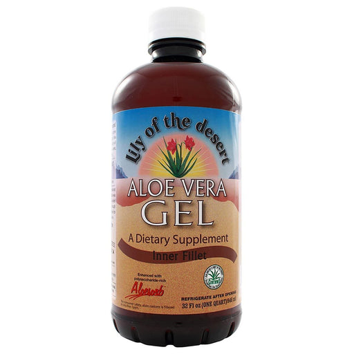 Lily of the Desert Vitamins, Minerals, Herbs & More Lily of the Desert Aloe Vera Gel 32oz (580738973740)