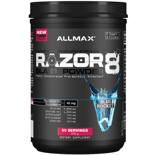 Allmax Nutrition Sports Nutrition & More Extreme Berry Allmax Nutrition Razor 8 Blast Powder 60 Servings (581246222380)
