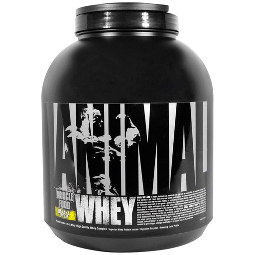 Universal Sports Nutrition & More Banana Universal Animal Whey 4lbs (582661013548)