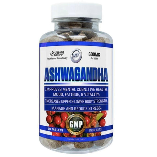 Hi-Tech Pharmaceuticals Herbs Hi-Tech Pharmaceuticals Ashwagandha 90CT (4442241958003)
