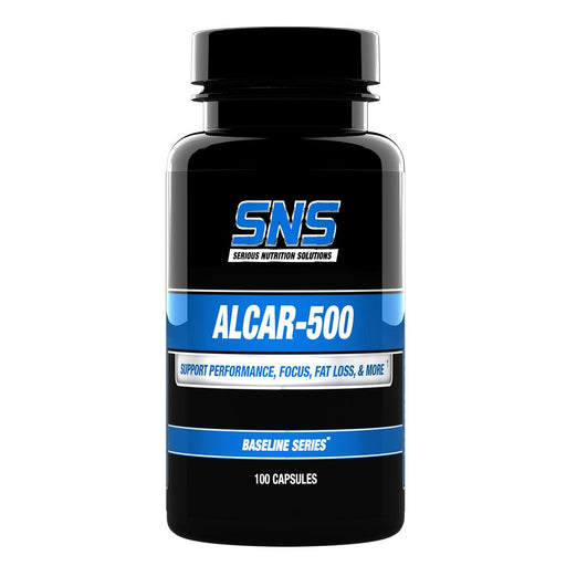 Serious Nutrition Solutions Sports Nutrition & More Serious Nutrition Solutions ALCAR 500 100 Caps (581964791852)