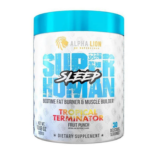 Alpha Lion Specialty Health Products Tropical Terminator Alpha Lion Super Human Sleep 30 Servings (4609116700787)