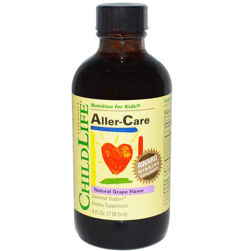 ChildLife Vitamins, Minerals, Herbs & More ChildLife Aller-Care 4 Fl Oz (582070075436)