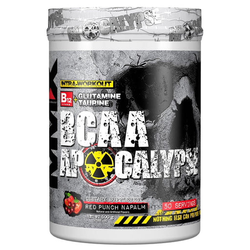 MuscleMaxx Sports Nutrition & More Red Punch Napalm MuscleMaxx BCAA Apocalypse 50 Servings (582573948972)