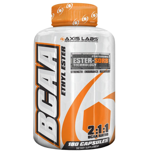 Axis Labs Sports Nutrition & More Axis Labs BCAA Ethyl Ester 180 Caps (581819498540)