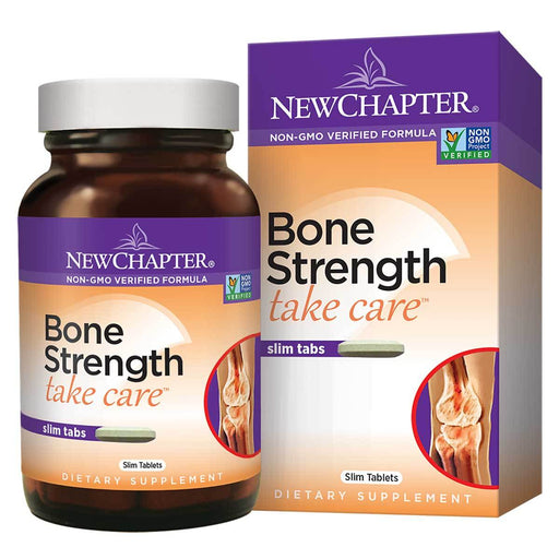 New Chapter Vitamins, Minerals, Herbs & More New Chapter Bone Strength Take Care 60 Tabs (581119836204)