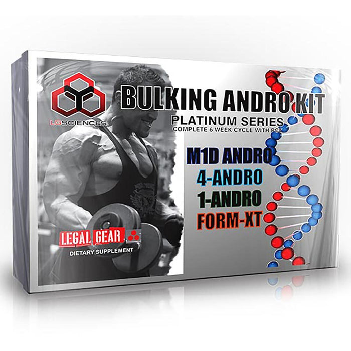 LG Sciences Sports Nutrition & More LG Sciences Bulking Andro Kit (582111789100)
