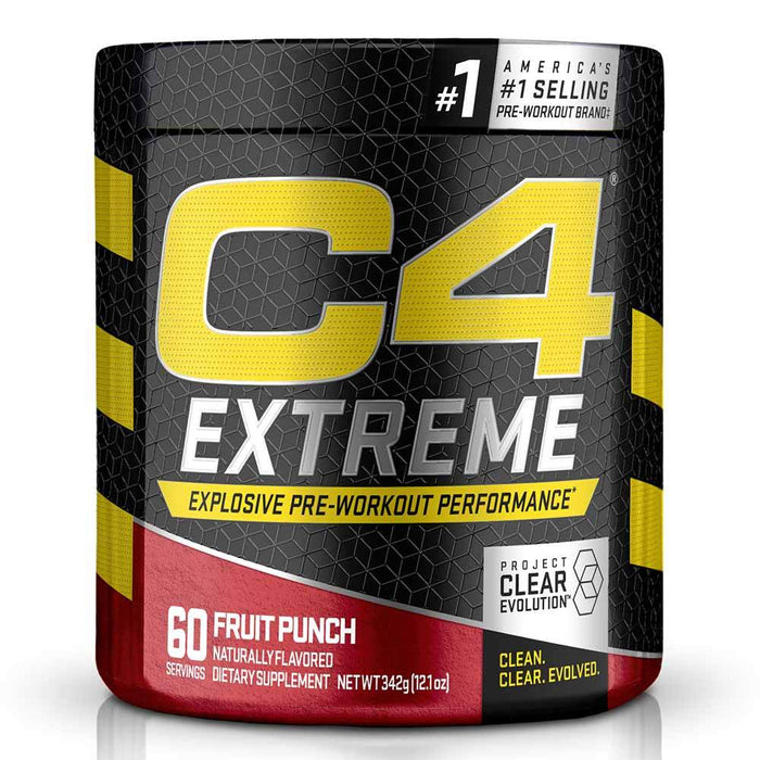 Cellucor Pre-Workouts Fruit Punch Cellucor C4 Extreme 60 Servings (4365957955699)