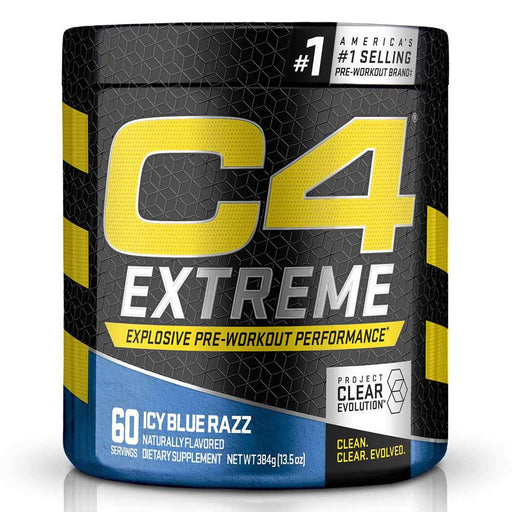 Cellucor Pre-Workouts Icy Blue Razz Cellucor C4 Extreme 60 Servings (4365957955699)