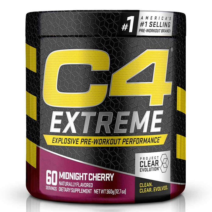Cellucor Pre-Workouts Midnight Cherry Cellucor C4 Extreme 60 Servings (4365957955699)