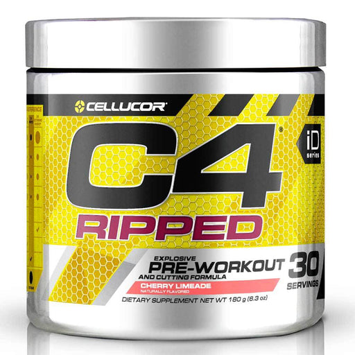 Cellucor Sports Nutrition & More Cherry Limeade Cellucor C4 Ripped 30 Servings (582347423788)