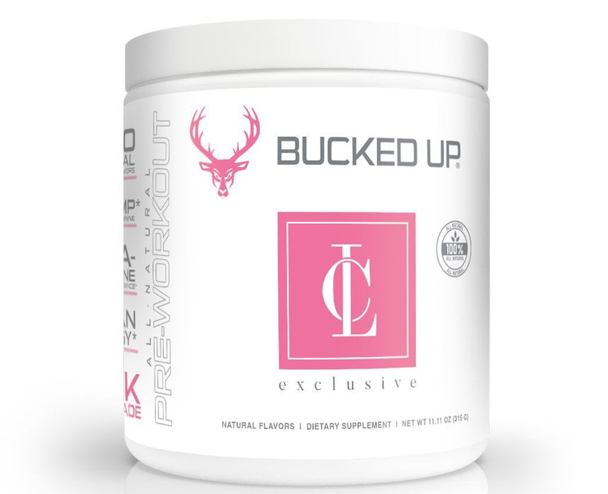 Bucked Up Pre-Workouts Pink Lemonade Bucked Up Cara Loren Bucked Up (4018469208108)