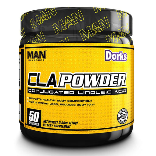 MAN Sports Nutrition & More Blue Bomb-Sicle MAN CLA Powder 50 Servings (582456541228)