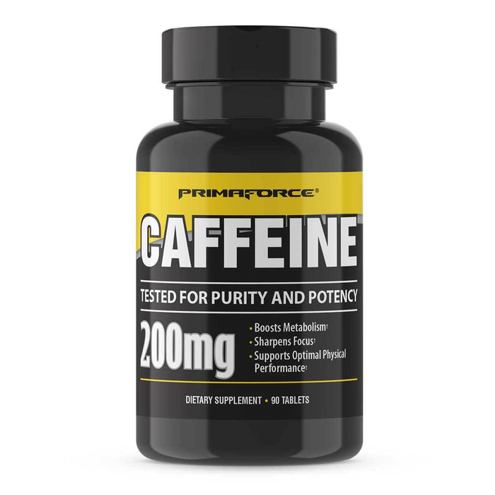 PrimaForce Sports Nutrition & More PrimaForce Caffeine 200mg 90 Tabs (581143199788)