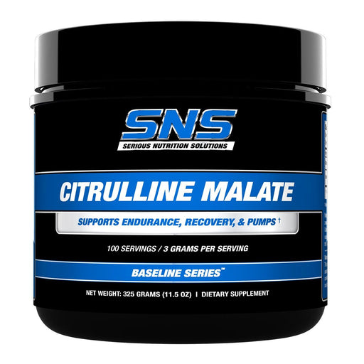Serious Nutrition Solutions Sports Nutrition & More Serious Nutrition Solutions Citrulline Malate 100 Servings (581966954540)