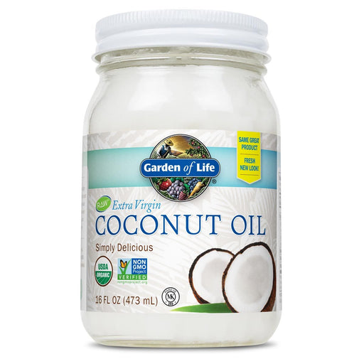 Garden of Life Vitamins, Minerals, Herbs & More Garden of Life Organic (Non-GMO) Extra Virgin Coconut Oil 16 oz (580681957420)