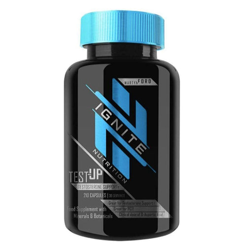 Ignite Sports Performance Recovery Ignite Test-Up 210 Capsules (4413949771891)