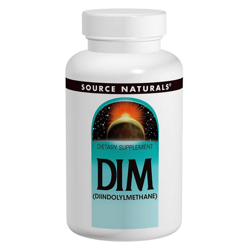 Source Naturals As Seen on TV Source Naturals DIM Complex (With Black Pepper) 100mg 60ct (581601198124)