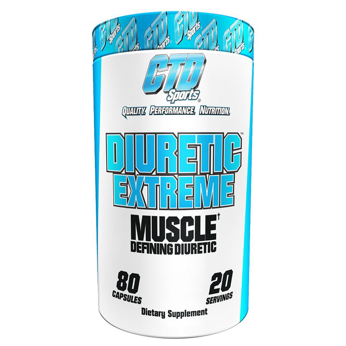 CTD Labs Sports Nutrition & More CTD Labs Diuretic Extreme 80 Caps (581418614828)