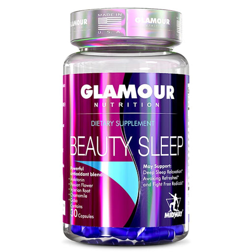 glamour nutrition Vitamins, Minerals, Herbs & More Glamour Nutrition Beauty Sleep 60 Caps (748623593516)