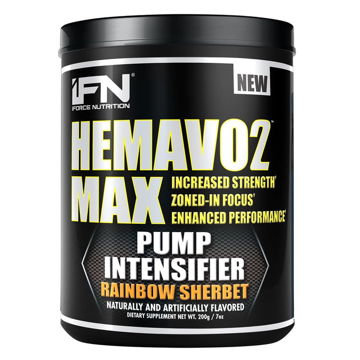 IFORCE Sports Nutrition & More Rainbow Sherbet IFORCE Hemavo2 Max 25 Servings (582121979948)
