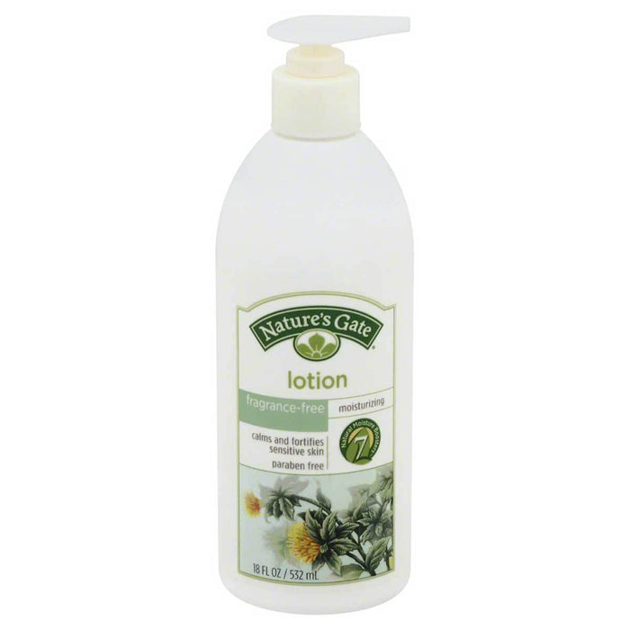 Nature's Gate Vitamins, Minerals, Herbs & More Nature's Gate Herbal Lotion Fragrance Free 18oz (580878008364)