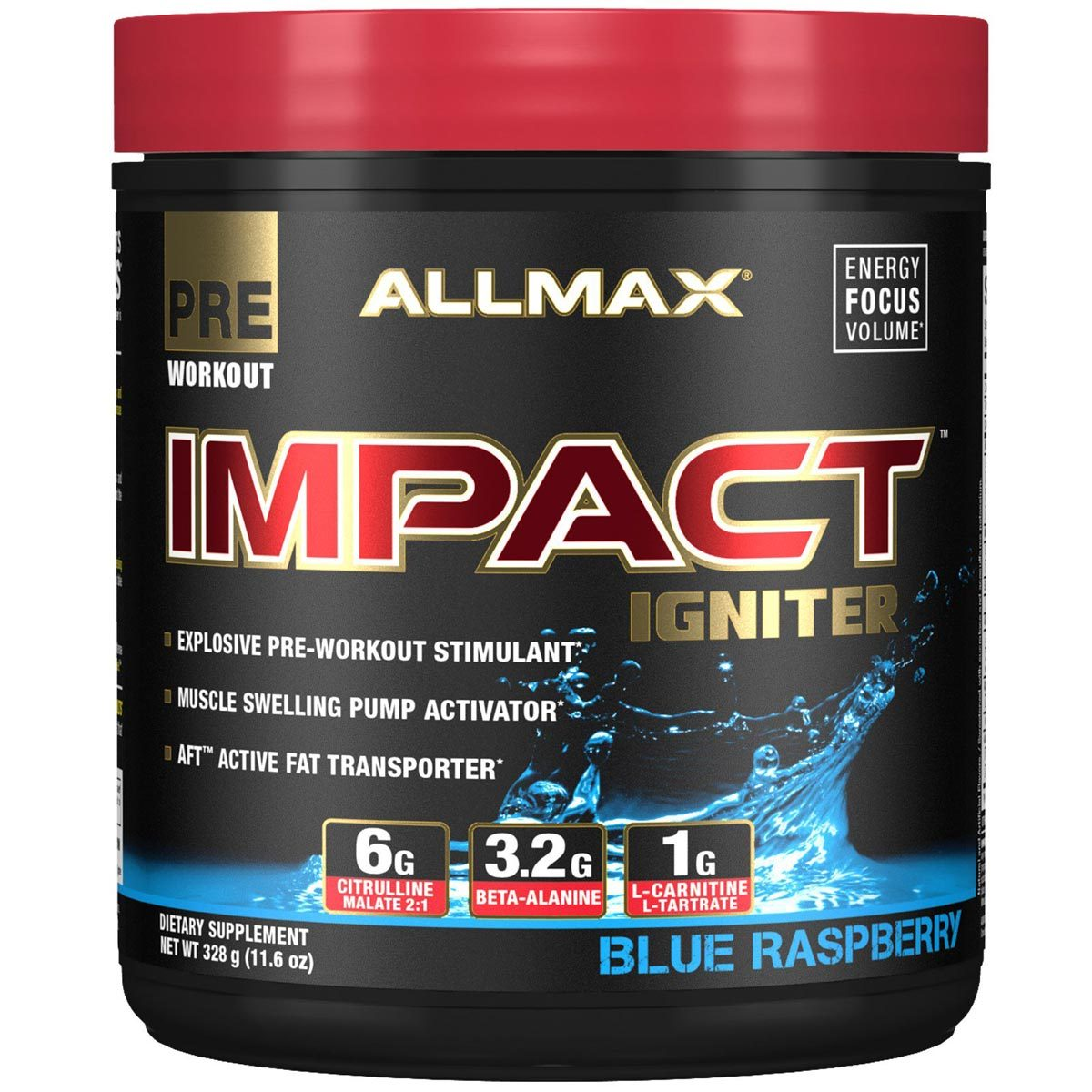 All Stars Pump Booster Test allmax nutrition impact igniter 20 servings