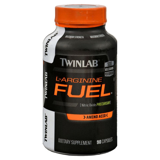 Twinlab Sports Nutrition & More TwinLab L-Arginine Fuel 500mg 90 Capsules (580492754988)
